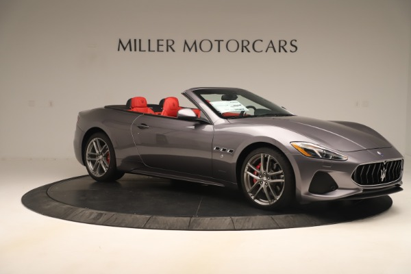 New 2018 Maserati GranTurismo Sport Convertible for sale $159,740 at Maserati of Greenwich in Greenwich CT 06830 10
