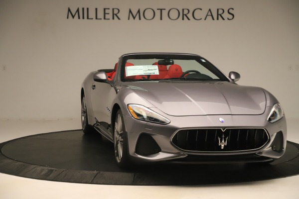 New 2018 Maserati GranTurismo Sport Convertible for sale $159,740 at Maserati of Greenwich in Greenwich CT 06830 11
