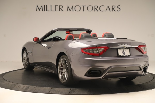 New 2018 Maserati GranTurismo Sport Convertible for sale $159,740 at Maserati of Greenwich in Greenwich CT 06830 5