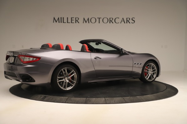 New 2018 Maserati GranTurismo Sport Convertible for sale $159,740 at Maserati of Greenwich in Greenwich CT 06830 8