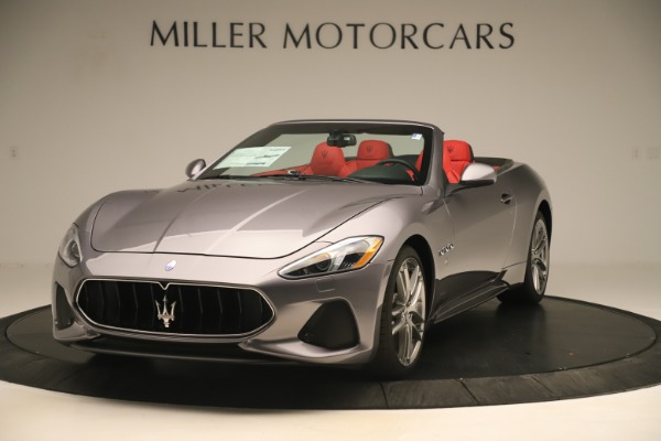 New 2018 Maserati GranTurismo Sport Convertible for sale $159,740 at Maserati of Greenwich in Greenwich CT 06830 1