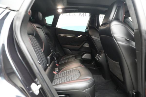 New 2019 Maserati Levante GTS for sale $134,005 at Maserati of Greenwich in Greenwich CT 06830 20