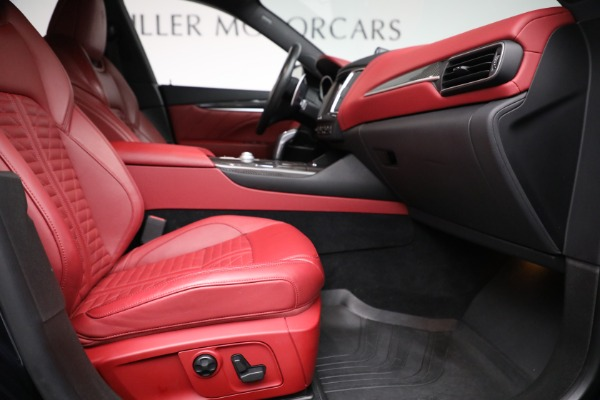 New 2019 Maserati Levante S Q4 GranSport for sale Sold at Maserati of Greenwich in Greenwich CT 06830 22