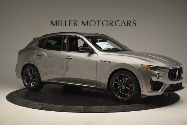 New 2019 Maserati Levante SQ4 GranSport Nerissimo for sale $102,705 at Maserati of Greenwich in Greenwich CT 06830 10