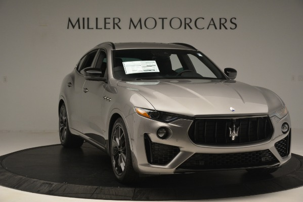New 2019 Maserati Levante SQ4 GranSport Nerissimo for sale $102,705 at Maserati of Greenwich in Greenwich CT 06830 11
