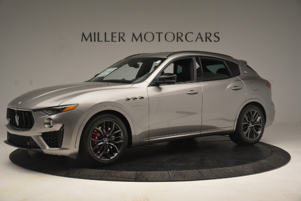 New 2019 Maserati Levante SQ4 GranSport Nerissimo for sale $102,705 at Maserati of Greenwich in Greenwich CT 06830 2