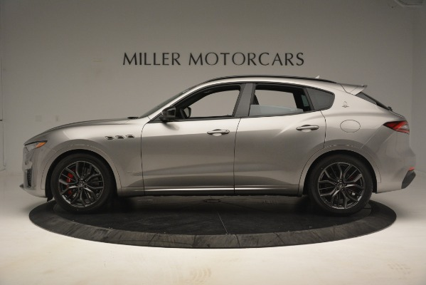 New 2019 Maserati Levante SQ4 GranSport Nerissimo for sale $102,705 at Maserati of Greenwich in Greenwich CT 06830 3
