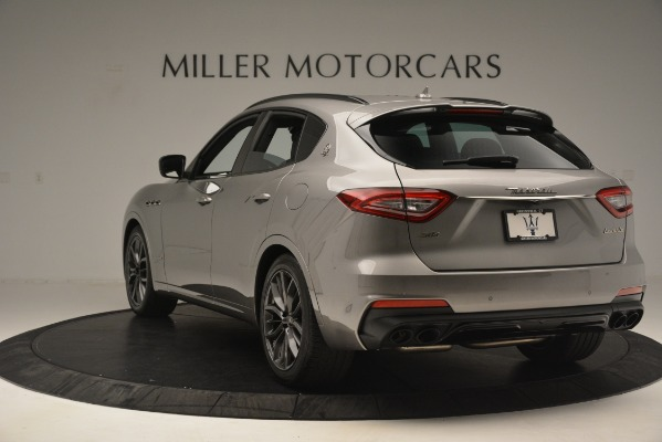 New 2019 Maserati Levante SQ4 GranSport Nerissimo for sale $102,705 at Maserati of Greenwich in Greenwich CT 06830 5