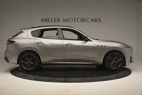 New 2019 Maserati Levante SQ4 GranSport Nerissimo for sale $102,705 at Maserati of Greenwich in Greenwich CT 06830 9