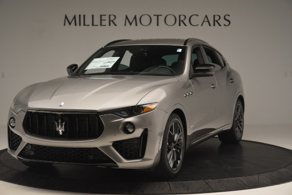 New 2019 Maserati Levante SQ4 GranSport Nerissimo for sale $102,705 at Maserati of Greenwich in Greenwich CT 06830 1