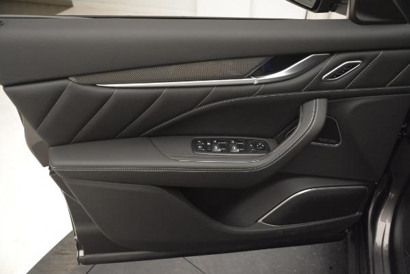 New 2019 Maserati Levante SQ4 GranSport Nerissimo for sale Sold at Maserati of Greenwich in Greenwich CT 06830 17