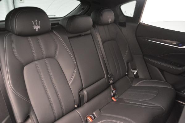 New 2019 Maserati Levante SQ4 GranSport Nerissimo for sale Sold at Maserati of Greenwich in Greenwich CT 06830 25