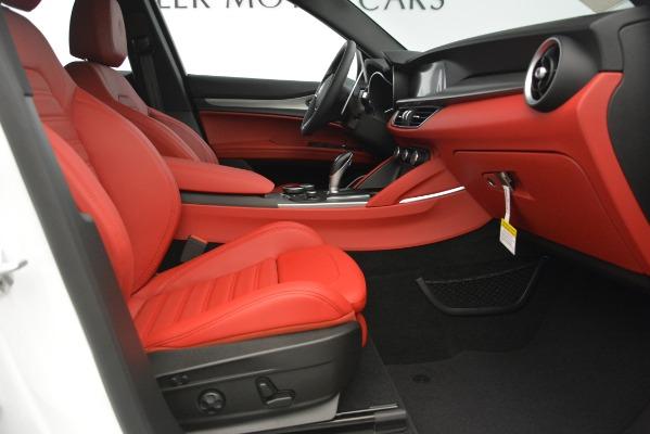 New 2019 Alfa Romeo Stelvio Ti Sport Q4 for sale Sold at Maserati of Greenwich in Greenwich CT 06830 21