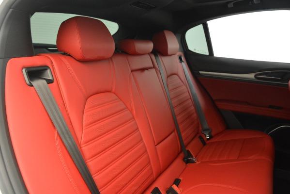 New 2019 Alfa Romeo Stelvio Ti Sport Q4 for sale Sold at Maserati of Greenwich in Greenwich CT 06830 24