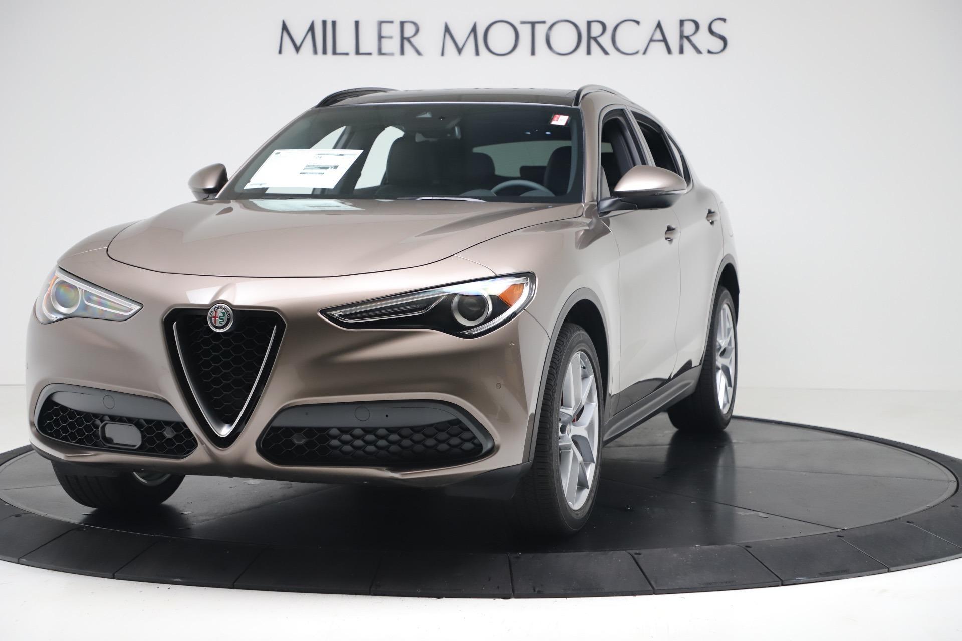 New 2019 Alfa Romeo Stelvio Ti Sport Q4 for sale $51,690 at Maserati of Greenwich in Greenwich CT 06830 1