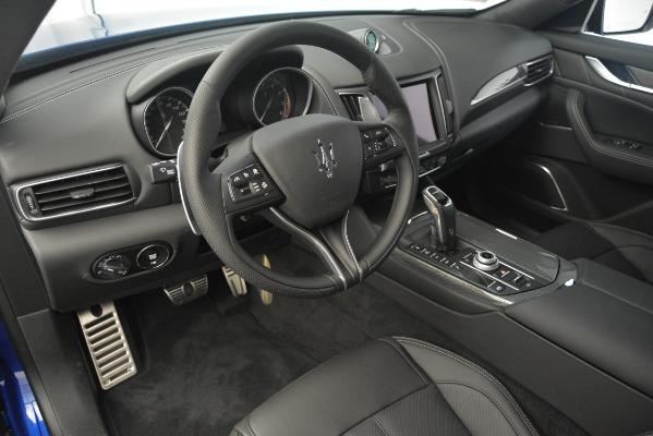 New 2019 Maserati Levante SQ4 GranSport Nerissimo for sale $105,430 at Maserati of Greenwich in Greenwich CT 06830 13