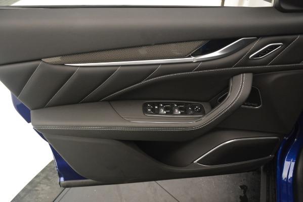 New 2019 Maserati Levante SQ4 GranSport Nerissimo for sale $105,430 at Maserati of Greenwich in Greenwich CT 06830 17