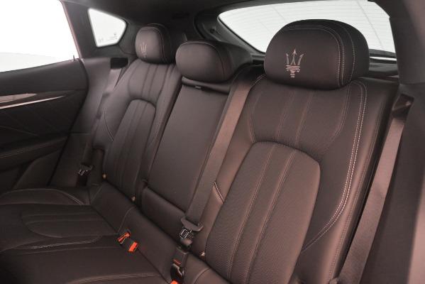 New 2019 Maserati Levante SQ4 GranSport Nerissimo for sale $105,430 at Maserati of Greenwich in Greenwich CT 06830 18