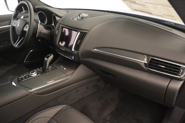 New 2019 Maserati Levante SQ4 GranSport Nerissimo for sale $105,430 at Maserati of Greenwich in Greenwich CT 06830 22