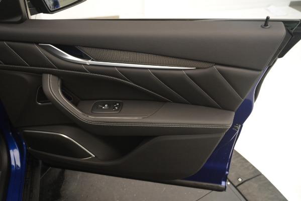 New 2019 Maserati Levante SQ4 GranSport Nerissimo for sale $105,430 at Maserati of Greenwich in Greenwich CT 06830 25