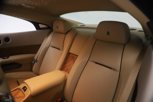Used 2015 Rolls-Royce Wraith for sale $199,900 at Maserati of Greenwich in Greenwich CT 06830 22