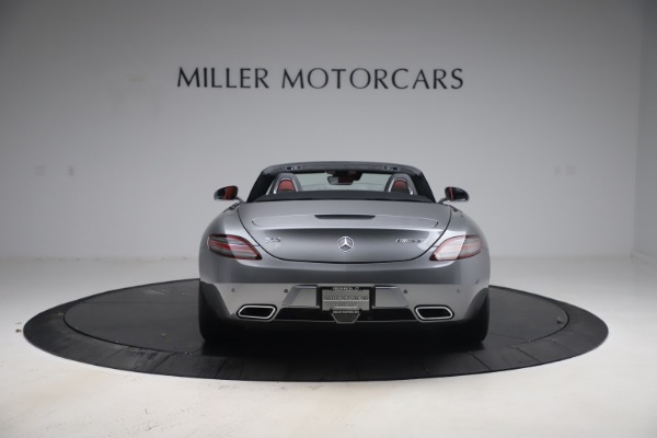 Used 2012 Mercedes-Benz SLS AMG for sale Sold at Maserati of Greenwich in Greenwich CT 06830 8