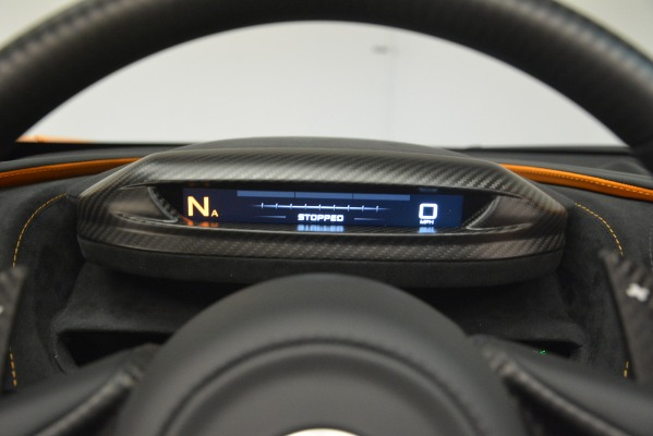 New 2020 McLaren 720S SPIDER Convertible for sale Sold at Maserati of Greenwich in Greenwich CT 06830 27