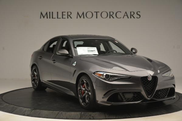 New 2019 Alfa Romeo Giulia Quadrifoglio for sale Sold at Maserati of Greenwich in Greenwich CT 06830 11