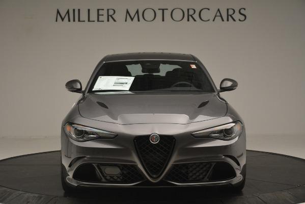 New 2019 Alfa Romeo Giulia Quadrifoglio for sale $79,340 at Maserati of Greenwich in Greenwich CT 06830 12