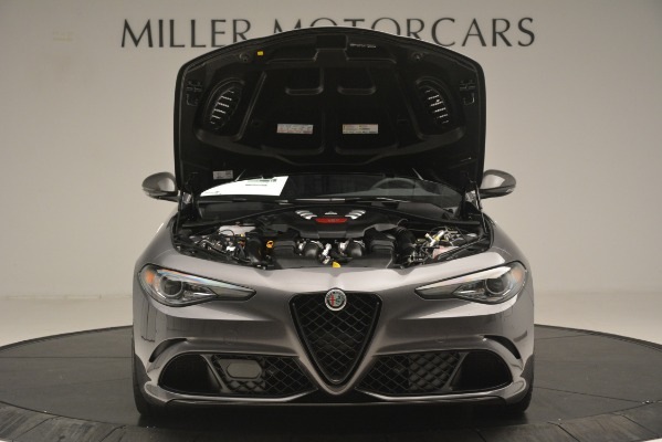 New 2019 Alfa Romeo Giulia Quadrifoglio for sale $79,340 at Maserati of Greenwich in Greenwich CT 06830 13