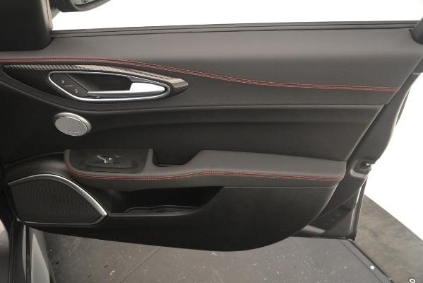 New 2019 Alfa Romeo Giulia Quadrifoglio for sale $79,340 at Maserati of Greenwich in Greenwich CT 06830 27
