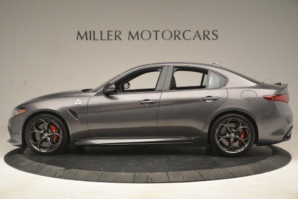 New 2019 Alfa Romeo Giulia Quadrifoglio for sale $79,340 at Maserati of Greenwich in Greenwich CT 06830 3