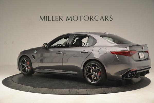 New 2019 Alfa Romeo Giulia Quadrifoglio for sale Sold at Maserati of Greenwich in Greenwich CT 06830 4