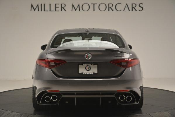 New 2019 Alfa Romeo Giulia Quadrifoglio for sale $79,340 at Maserati of Greenwich in Greenwich CT 06830 6