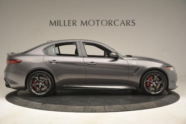 New 2019 Alfa Romeo Giulia Quadrifoglio for sale $79,340 at Maserati of Greenwich in Greenwich CT 06830 9