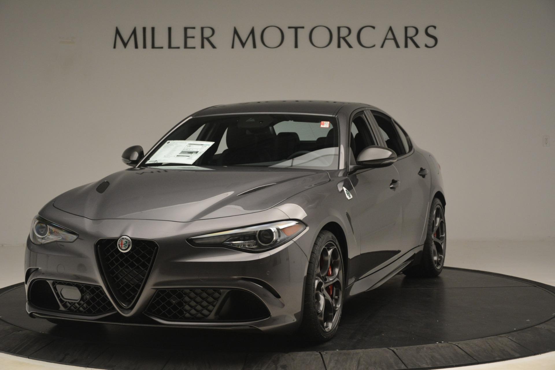 New 2019 Alfa Romeo Giulia Quadrifoglio for sale $79,340 at Maserati of Greenwich in Greenwich CT 06830 1