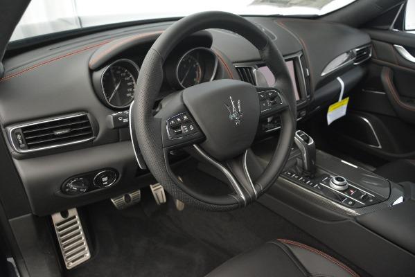New 2019 Maserati Levante SQ4 GranSport Nerissimo for sale Sold at Maserati of Greenwich in Greenwich CT 06830 13