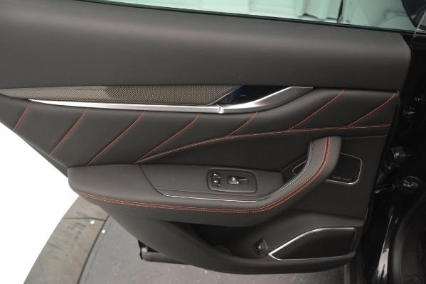 New 2019 Maserati Levante SQ4 GranSport Nerissimo for sale Sold at Maserati of Greenwich in Greenwich CT 06830 21