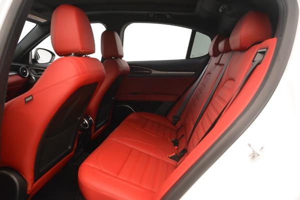 New 2019 Alfa Romeo Stelvio Ti Sport Q4 for sale $54,390 at Maserati of Greenwich in Greenwich CT 06830 19