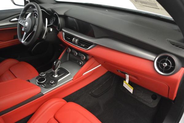 New 2019 Alfa Romeo Stelvio Ti Sport Q4 for sale $54,390 at Maserati of Greenwich in Greenwich CT 06830 22