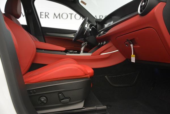 New 2019 Alfa Romeo Stelvio Ti Sport Q4 for sale $54,390 at Maserati of Greenwich in Greenwich CT 06830 23