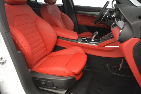 New 2019 Alfa Romeo Stelvio Ti Sport Q4 for sale $54,390 at Maserati of Greenwich in Greenwich CT 06830 24