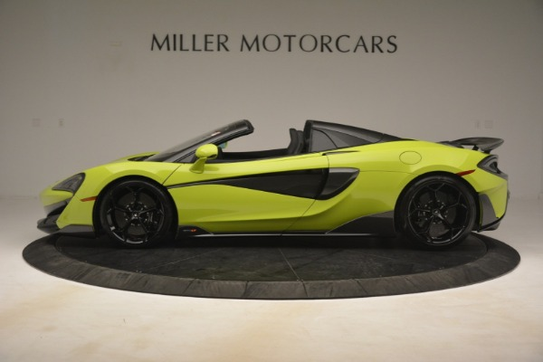 New 2020 McLaren 600LT Spider for sale $281,570 at Maserati of Greenwich in Greenwich CT 06830 10