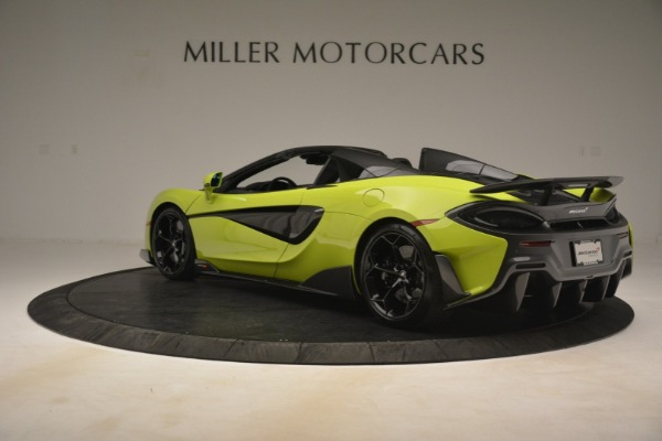 New 2020 McLaren 600LT Spider for sale $281,570 at Maserati of Greenwich in Greenwich CT 06830 11