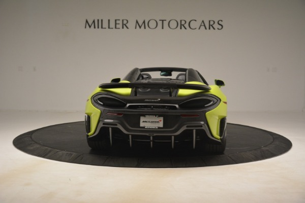 New 2020 McLaren 600LT Spider for sale $281,570 at Maserati of Greenwich in Greenwich CT 06830 12
