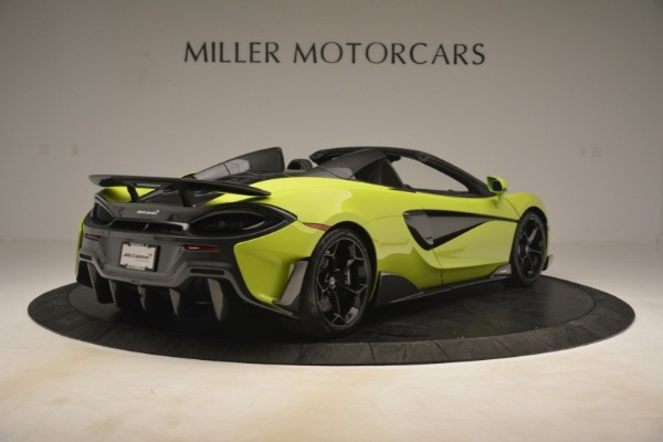 New 2020 McLaren 600LT SPIDER Convertible for sale $281,570 at Maserati of Greenwich in Greenwich CT 06830 13