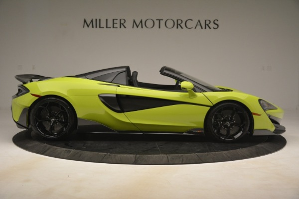 New 2020 McLaren 600LT SPIDER Convertible for sale $281,570 at Maserati of Greenwich in Greenwich CT 06830 14
