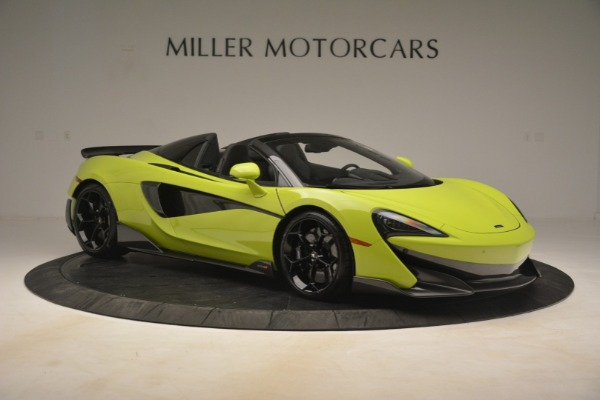 New 2020 McLaren 600LT Spider for sale $281,570 at Maserati of Greenwich in Greenwich CT 06830 15