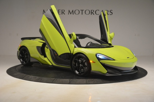 New 2020 McLaren 600LT SPIDER Convertible for sale $281,570 at Maserati of Greenwich in Greenwich CT 06830 16