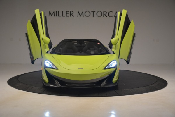 New 2020 McLaren 600LT Spider for sale $281,570 at Maserati of Greenwich in Greenwich CT 06830 17